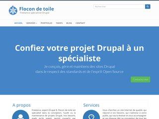 Flocon de toile - création de site Internet à Lyon