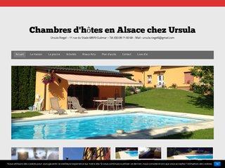 Séjour à Ribeauvillé avec les chambres d'hôtes en Alsace