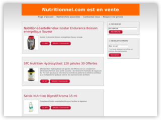 Nutritionniste