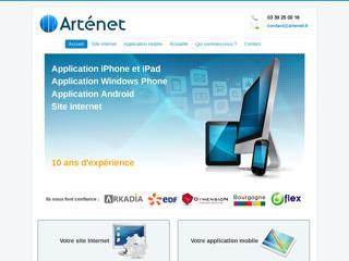 Création de sites Internet et d'applications IPhone - ARTENET