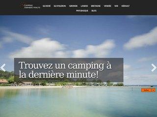 Derniere minute camping