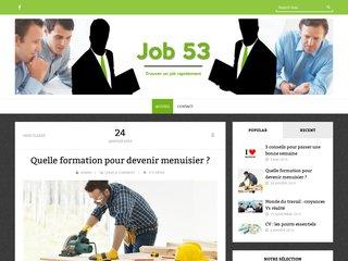 Job 53 - Emploi en Mayenne