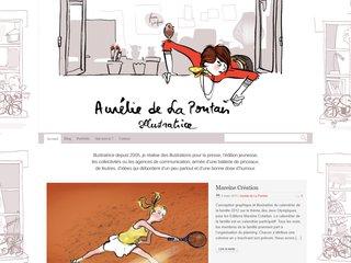 Aurélie de La Pontais > blog illustrateur