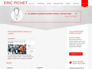 Eric PICHET expert en fiscalité