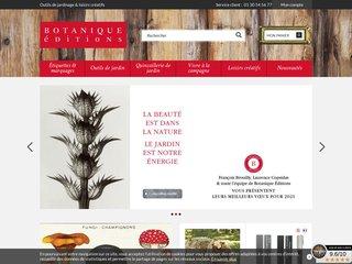Botanique Editions - Materiel de jardinage