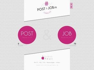 Post n Job : déposer cv en ligne