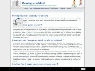 Catalogue médical en ligne