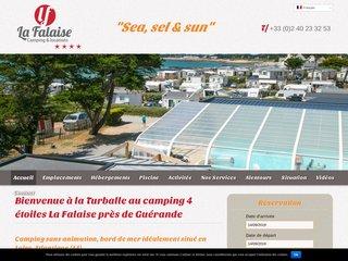 Camping La Turballe de la Falaise