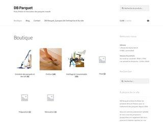 DB Parquet : rénovation et entretien de parquet massif.