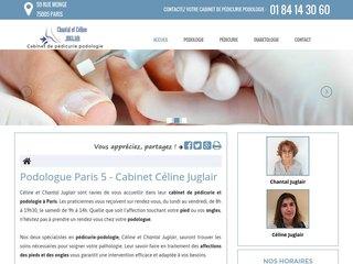 Votre cabinet de podologie à Paris 5
