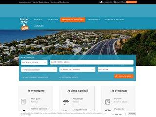 Immo974 : annonces immobilières île de la Réunion