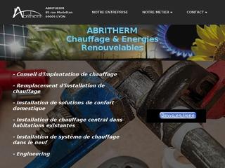 ABRITHERM - Chauffage sur Lyon-Energies Renouvelables-chaudiere condensation-solaire-pompe à chaleur