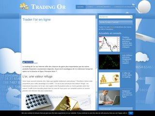 Trading de l'or en direct