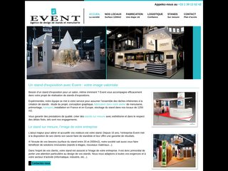 Event : stands sur mesure