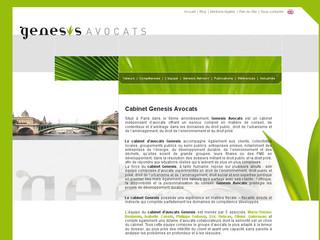 Cabinet Genesis - avocats en droit public économique