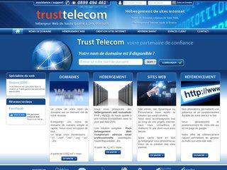 Trusttelecom , spécialiste de l'hébergement web
