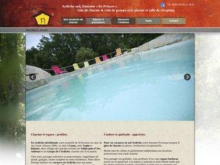 Gîtes les Princes - Séjour vacances en Ardèche
