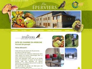 Gîte les Eperviers - Randonnée, séminaire, accueil handicapés en Ardèche