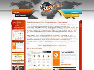 Click Internet: création et référencement de sites Internet