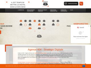 Agence 404 : rendre son site performant