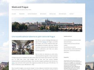 Week-end Prague, guide de votre voyage