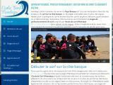 école de surf Hendaye
