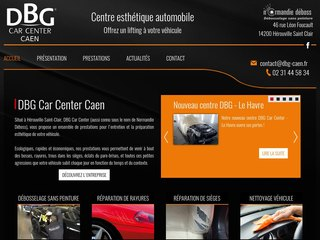 DBG Car Center Caen - salon esthétique pour voiture dans le Calvados