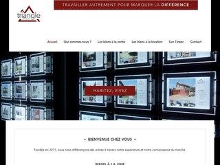 L'Agence Triangle Immobilier le promoteur des biens immobiliers à Antananarivo