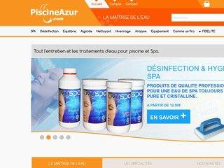 Piscineazur - Entretien, traitement de l'eau de piscine et Spa