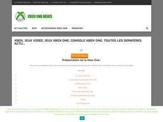 Xboxonenews : site sur la console X Box One