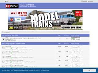Le forum du modélisme ferroviaire