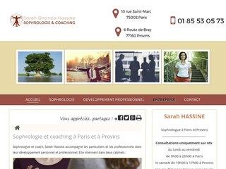 Sophrologie pour entreprises à Paris