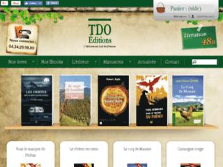 Ventes de romans historique et livres de terroir : TDO Editions