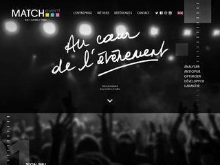 MATCHevent - Prestataire audiovisuel de l'évènement