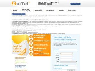 logiciel centre d'appel zoitel