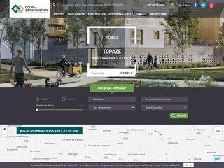 Promoteur immobilier à Rennes : Coop de construction