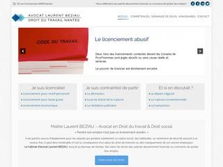 Avocat Beziau - Droit du Travail à Nantes