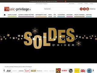 La boutique Music Privilège