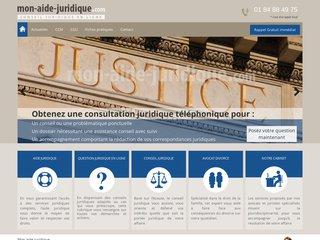 Aide juridique - Avocat en ligne