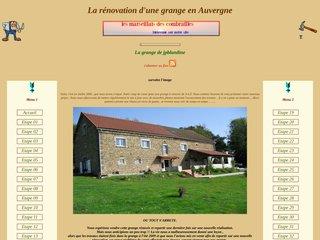 La rénovation d'un grange en auvergne