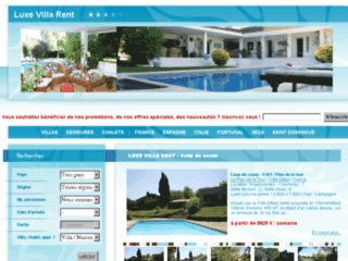Location villa Saint Domingue - Luxe Villas Rent