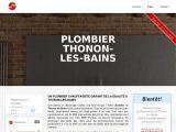 Plombier Thonon-les-bains
