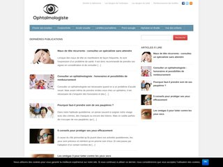 L'ophtalmologie de A à Z