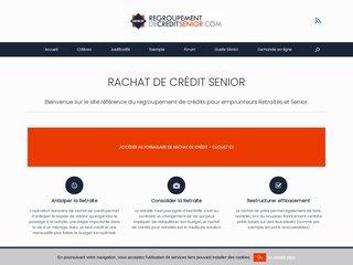 Regroupement de crédit Senior