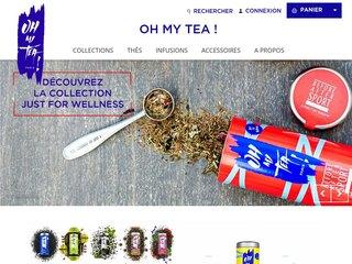 Oh My Tea Paris, boutique de vente de thés et de tisanes en ligne