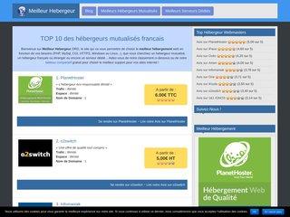 Meilleur hébergeur : toutes les informations sur l'hébergement web