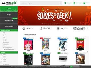 GameCash : achetez et vendez vos jeux vidéo au meilleur prix