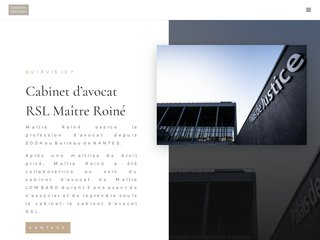 Cabinet d'avocat RSL à Nantes