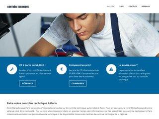 Controle technique Paris : les centres de controle technique automobile de Paris