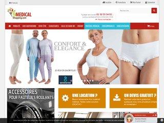 E-medical-shopping : vente et location en ligne de matériel médical